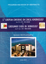 Book of Abstracts and Program of the 12th European Conference on Clinical Hemorheology